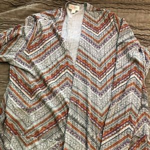 PRICE NEGOTIABLE Lularoe Sarah cardigan size med